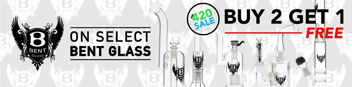 Bent Glass 420 Sale