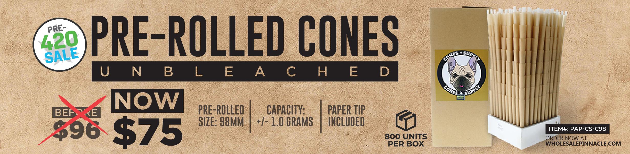 Bulk Pre Rolled Cones