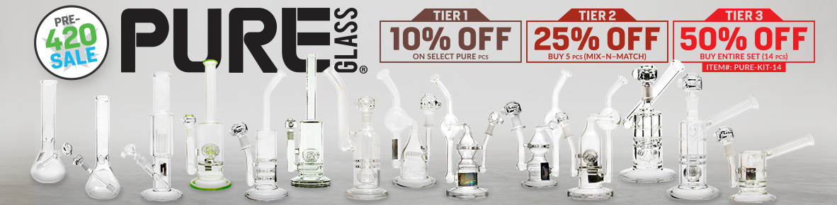 Pure Glass 420 Sale