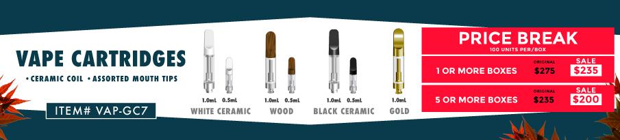 Ceramic Coil Vape Cartridges