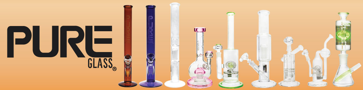 New Pure Glass Bongs