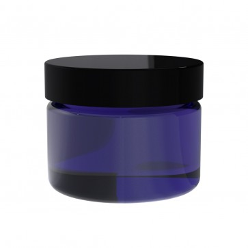 Blue Glass Jar 2oz - 42 Units