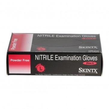 Nitrile Glove Black Large - 100 Units