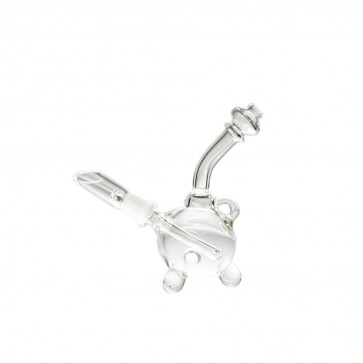 "4.5"" Clear Mini Spherical Rig with 10mm Male Joint"