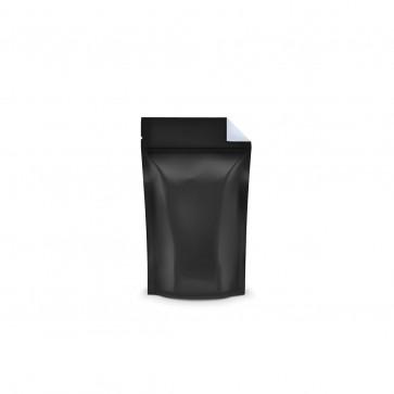 Black Vista Mylar Bag With Tear Notch 1/8 Ounce - 1,000 Units