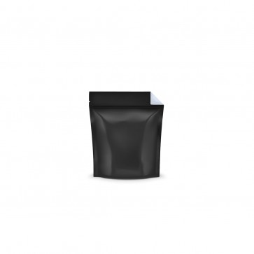 Black Vista Mylar Bag With Tear Notch 1 Gram - 1,000 Units