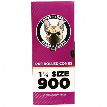 "CONES + SUPPLY 84mm x 26mm 1 1/4"" (900 Units)"