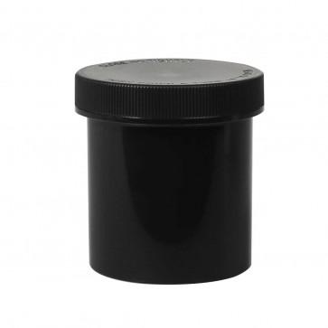 16oz Black Plastic Jar w/ Child Proof Cap - 205 Units