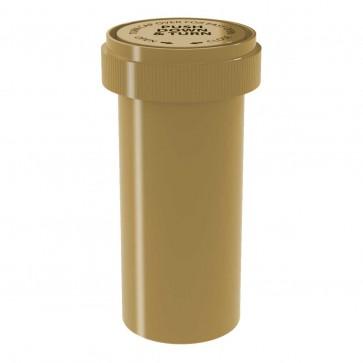 Gold Reversible Cap Vial 40 Dram - 150 Units/box