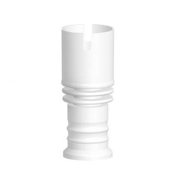 Ceramic Nail Female - Domeless 5 Hole Rook Wide 19mm or 14mm