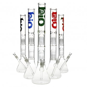 "22"" Bio Double Tree Beaker Waterpipe"