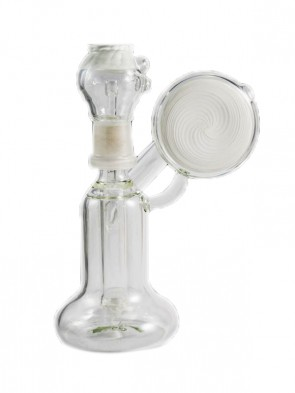 White Oil Dome Bubbler