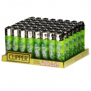 CLIPPER LIGHTER MARY JANE PINUPS - 48 CT