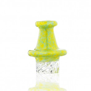 MULTI-DIRECTIONAL SPECKLED CARB CAP - GREEN