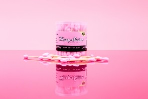 Blazy Susan Pink Cotton Bud Swabs - 100ct