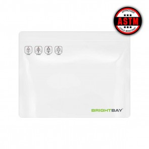 "Brightbay Child Resistant White Exit Bag 12"" x 9"" - 250 Units"