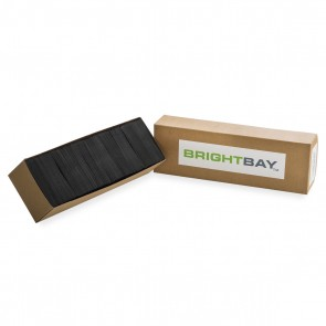 Brightbay Black Concentrate Shatter Envelope - 500 Units