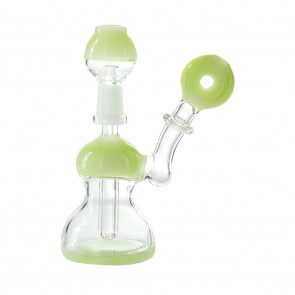 "4"" Mini Slyme Donut Dab Rig 10mm"