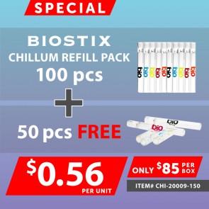 SPECIAL BIO STIX One Hitters Refill 100pcs + 50pcs FREE