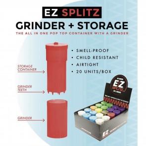 The Original EZ Splitz Cap & Crusher- 20 Count (Grinder)