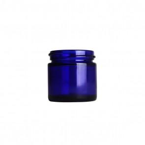 1oz Blue Glass Jar only - 40 Units