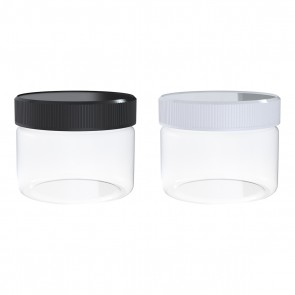 2oz Glass Jar with Cap - 240 Units