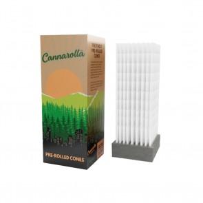 Cannarolla Cones White 1-1/4 - 84/26mm - 900 ct