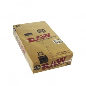 """RAW Classic 1 1/4"""" Rolling Papers - 24 Units"""