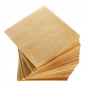 "Parchment Paper 4 X 4"" Natural - 1000 Units"