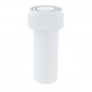 Opaque White Reversible Cap Vial 08 Dram - 410 Units/box