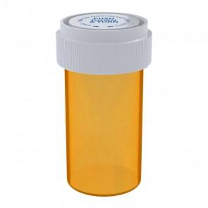Amber Reversible Cap Vial 13 Dram - 275 Units/box