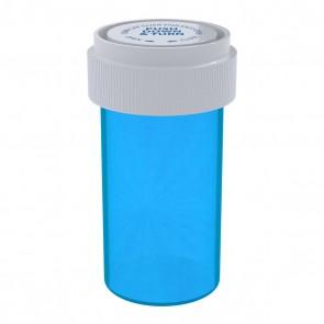 Blue Reversible Cap Vial 13 Dram - 275 Units/box