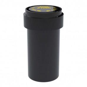Opaque Black Reversible Cap Vial 20 Dram - 240 Units/box