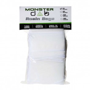"2"" x 4"" 45 Micron Monster Dab Rosin Bag - 100 Units"