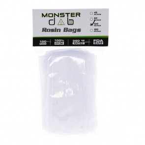 "3"" x 6"" 120 Micron Monster Dab Rosin Bag - 100 Units"