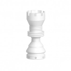 Ceramic Nail Female - Domeless 5 Hole Rook Short 19mm or 14mm