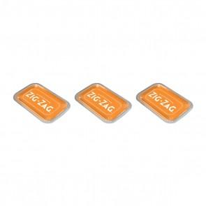 Zig Zag Metal Rolling Tray Orange Medium - 3 units