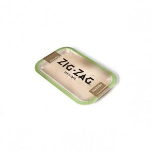 Zig Zag Metal Rolling Tray Organic Medium