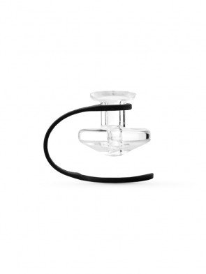 Puffco Peak Ball Cap and Tether Directional Carb Cap - Clear
