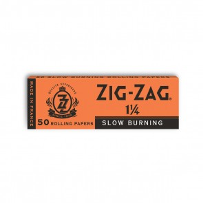 Zig Zag Orange Rolling Papers 1 1/4 - 25 units