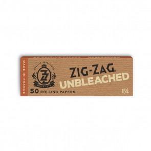 Zig Zag Unbleached Rolling Papers 1 1/4 - 25 units