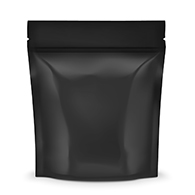 Black Smell Proof Mylar Bags