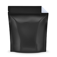 Black / Clear Smell Proof Mylar Bags