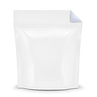 White / Clear Smell Proof Mylar Bags