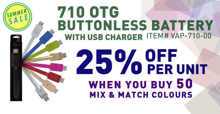 710 Vape batteries on Sale
