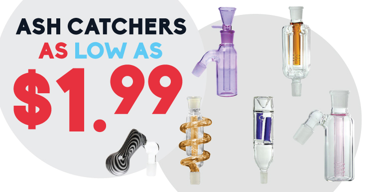 Ash catchers on sale Ash catchers for Bongs and dab rigs in Canada