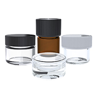 Marijuana packaging concentrate containers perfect for hash, wax, shatter