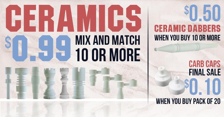 Huge sale on Ceramic Nails