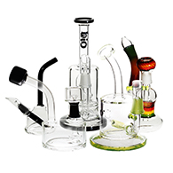 Dab Rigs, concentrate pipes, oil rigs used for Dabbing Concentrate Marijuana