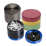 Cannabis Grinders we have displays for grinders and individual grinders